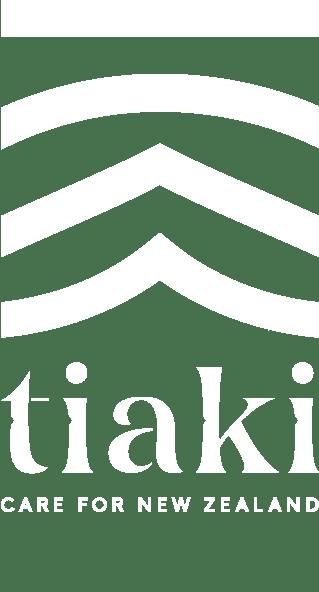 Tiaki promise care for New Zealand logo